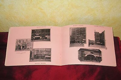 The Colonial Theater Early Stage San Francisco Earthquake Rare Photo Book