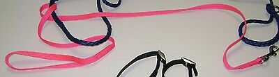 2 Cat Leashes - Pink and Blue!! and 1 Black Cat Harness! Choice of 1!