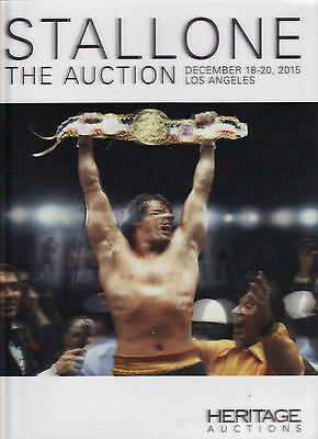 Sylvester Stallone Heratage Auction Catalog from December 2015
