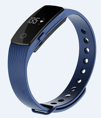 Heart Rate Activity Tracker Touchscreen Fitbit Hr Style Wireless Watch Blue