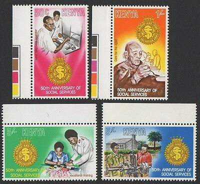 Kenya stamps. 1979 The 50th Anniversary of Salvation Army Social Services. MNH