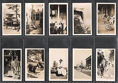 1928,cavanders Ltd,peeps Into Many Lands-Second Series,set Of 36 Cards-Right,ss