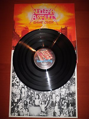NUCLEAR ASSAULT Game over LP