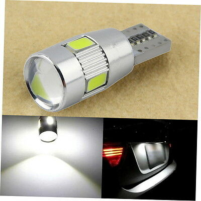 HID White CANBUS T10 W5W 5630 6-SMD Car Auto LED Light Bulb Lamp 194 192 158 P3