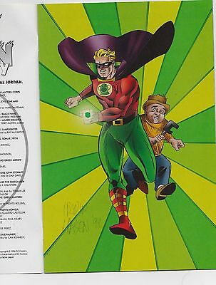 Green Lantern Gallery #1 VF/NM  signed IRWIN HASEN with coa