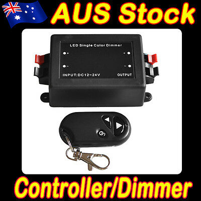 Wireless Remote LED Strip Light Dimmer with on/off Switch for Camper  3528 5050