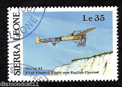 1987 Sierra Leone 35Le Bleriot XI SG 1064 FINE USED R26064