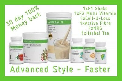 Herbalife Advanced Program - Get in Shape for Xmas Aussie Seller 4 Day Delivery