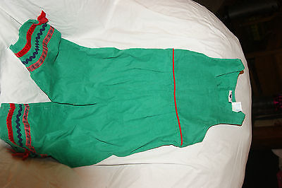 Hartstrings girls one piece romper size 4T 4 CHRISTMAS