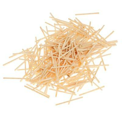 1000Pcs Wooden Popsicle Sticks Natural for Party Kids DIY Crafts Matchstick