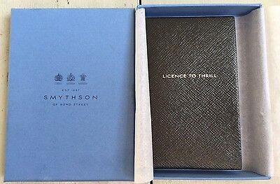 Smythson notebook- Licence To Thrill