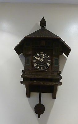 A Fine Black Forest Cuckoo Clock With Bell Tower