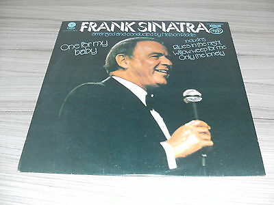 "Frank Sinatra. One For My Baby. 12"" Vinyl Stereo 33 Rpm Lp Record Album Mfp50089"