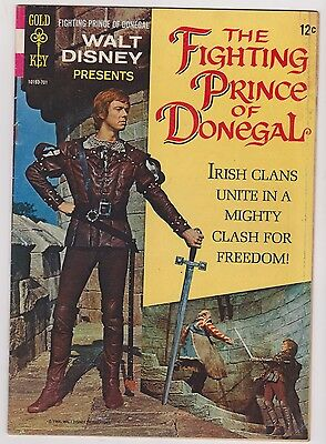 Gold Key Movie Comics featuring Fighting Prince of Donegal, Very Fine Condition.