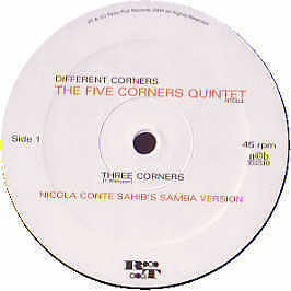 The Five Corners Quintet - Different Corners - Ricky Tick Records - 2004 #138345