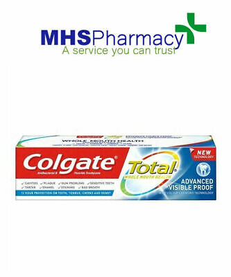 Colgate Total Proof Toothpaste 75ml - CHOOSE PACK SIZE
