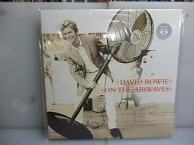 David Bowie-On The Airwaves. Sessions @aol/bbc 2002/3-Silver Vinyl Lp-New.sealed
