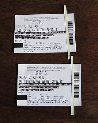 Tickets for Madame Tussaud's