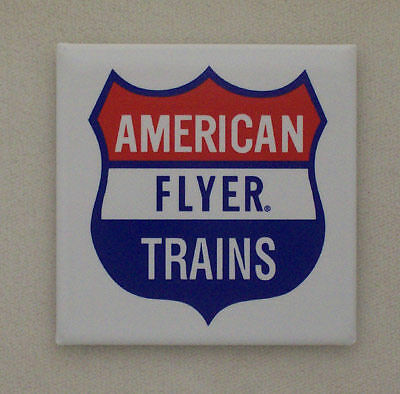 American Flyer Trains Railroad Magnet #58-1000
