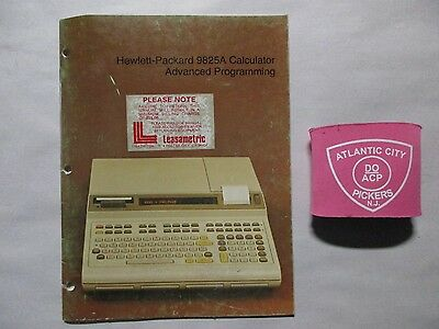 Hewlett Packard 9825A Calculator Advanced Programming Manual