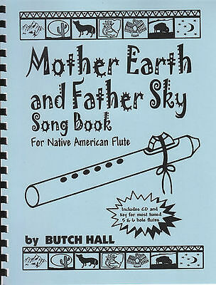 Mother Earth and Father Sky Song Book for NA Flute w CD