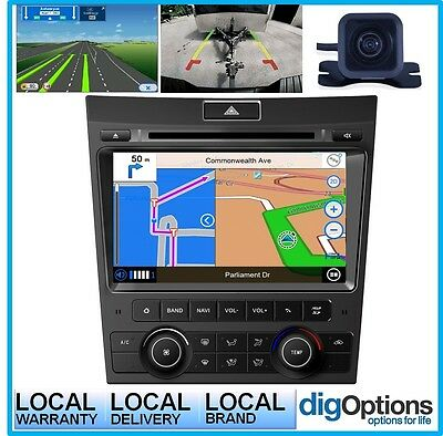 !GPS for Holden Commodore VE Series 1 Bluetooth Car Player Android Nav Radio Cam