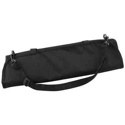 Chef Knife Wallet Case 10 Compartment | Black Nylon Slots Knives Roll Storage