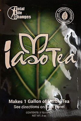 IASO Tea 1 month supply Cleanse Organic Weight Loss HOLY TLC Cleansing Herbal
