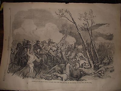 1861~ The Charge Of The Black Horse Calvary Upon The Fire Zoauves At Bull Run