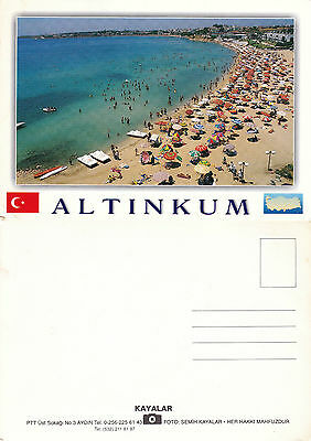 1990's PANORAMA OF ALTINKUM TURKEY UNUSED COLOUR POSTCARD