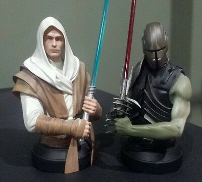 Gentle Giant Star Wars The Force Unleashed Starkiller Mini Busts