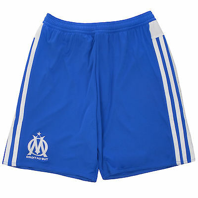 adidas Performance Mens Olympique Marseille Football Soccer Third Kit Shorts