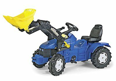 Rolly Toys New Holland TD5050 Ride on Pedal Tractor Trac Loader Ages 3 - 8