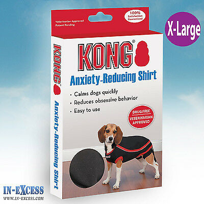 Genuine Kong Anxiety-Reducing Dog Shirt Size X-Large Calming Vest Coat