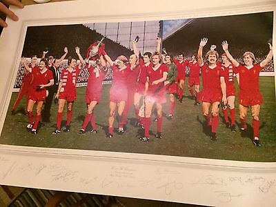 Liverpool Signed Poster