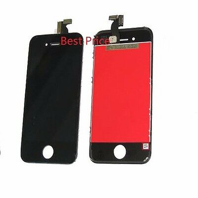 Iphone 4S LCD Display + Touch Screen Digitizer Glass Unit Black