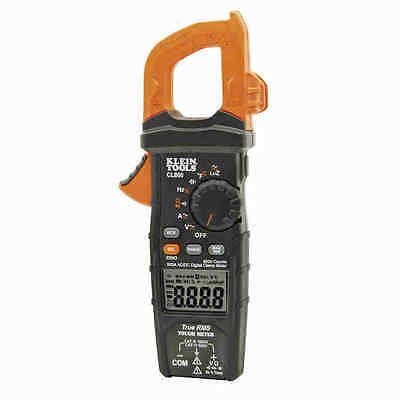 Klein Tools CL800 Digital Clamp Meter Auto-Ranging 600A AC/DC - NEW!