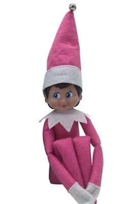 Pink Elf that sits on the shelf-USA Seller
