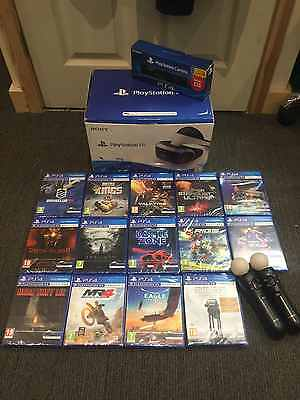 Sony Playstation 4 Vr Headset Package