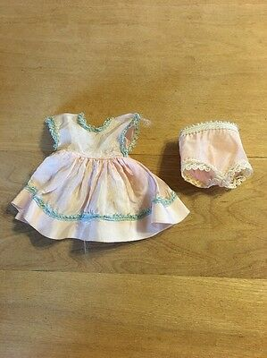 Vintage Pink Dress And Panties Possibly For Ginger