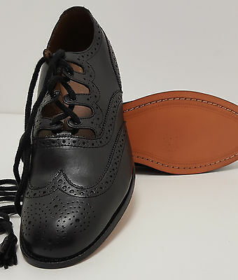 """Soft All Leather Scottish Ghillie Kilt Leather Brogues Shoes """"48 Hour Sale"""""""