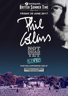 PHIL COLLINS British Summer Time - Hyde Park - 30 June 2017 PHOTO Print POSTER 7