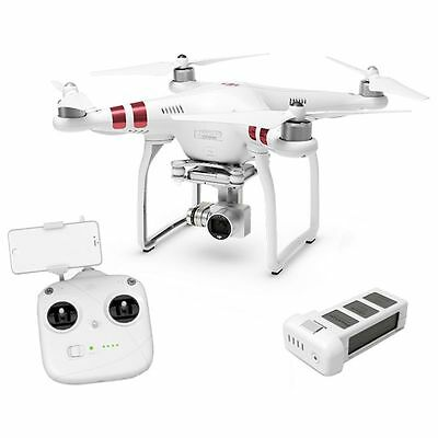 DJI PHANTOM 3 STANDARD RC QUADROCOPTÈRE RTF + 3 essieux Cardan 12MP Ultra HD