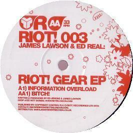 James Lawson & Ed Real - Riot Gear EP - Riot - 2004 #142526