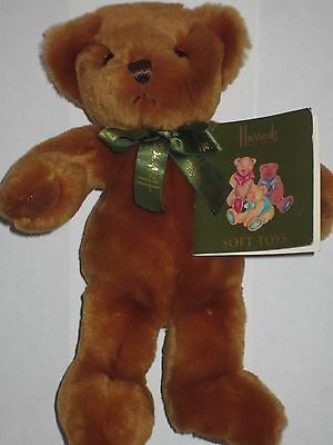 New With Tags Harrods Teddy Bear Soft Toy