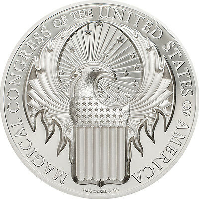 MAGICAL CONGRESS - FANTASTIC BEASTS - 2017 1 oz Pure Silver Coin - SMARTMINTING