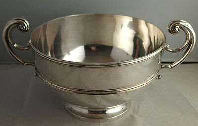 Superb Victorian Solid Silver Rose Bowl - 856g - London 1897
