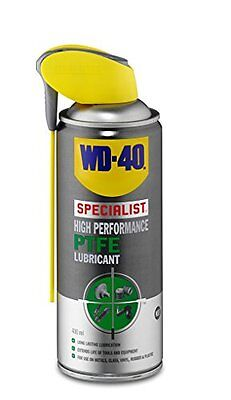 WD-40 Specialist 400ml High Performance Lubricant with PTFE