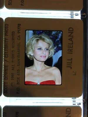Jill Ireland 300+ Slides Celebrity Photograph Collection