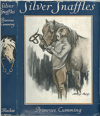 Silver Snaffles By Primrose Cumming -- 1937 First Edition In Very Scarce D.j.